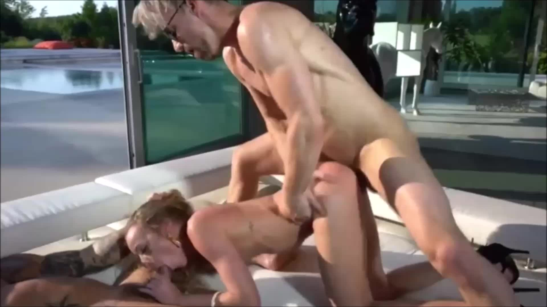 Hot Petite Pornstar Destroyed By Two Big Dick