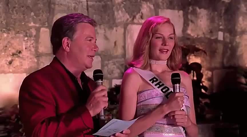 celebs, perfect date, william shatner, Miss Congeniality - April 25th GIFs