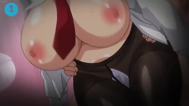 hentai large boobs compilation
