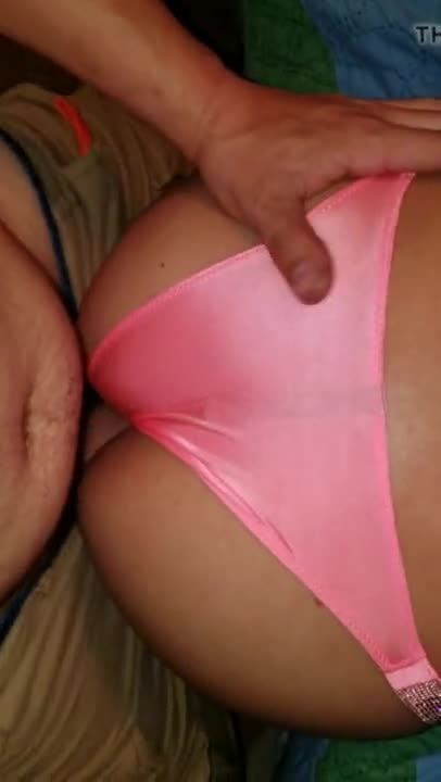 fuck and cum on pink panties