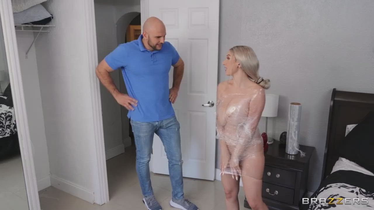 Skylar Gets Wrapped And Tapped