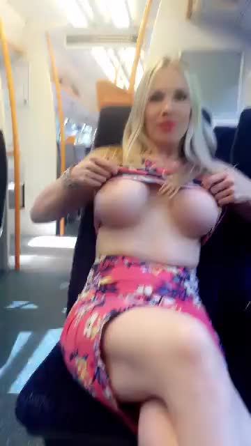 Naughty train tittydrop
