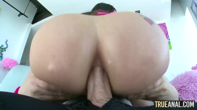 Lana Rhoades Has Her Perfect Big Ass Fucked in Cowgirl Anal