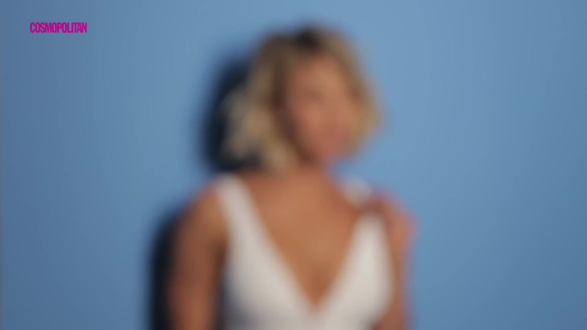 Kaley Cuoco Cosmopolitan Photo Shoot Video