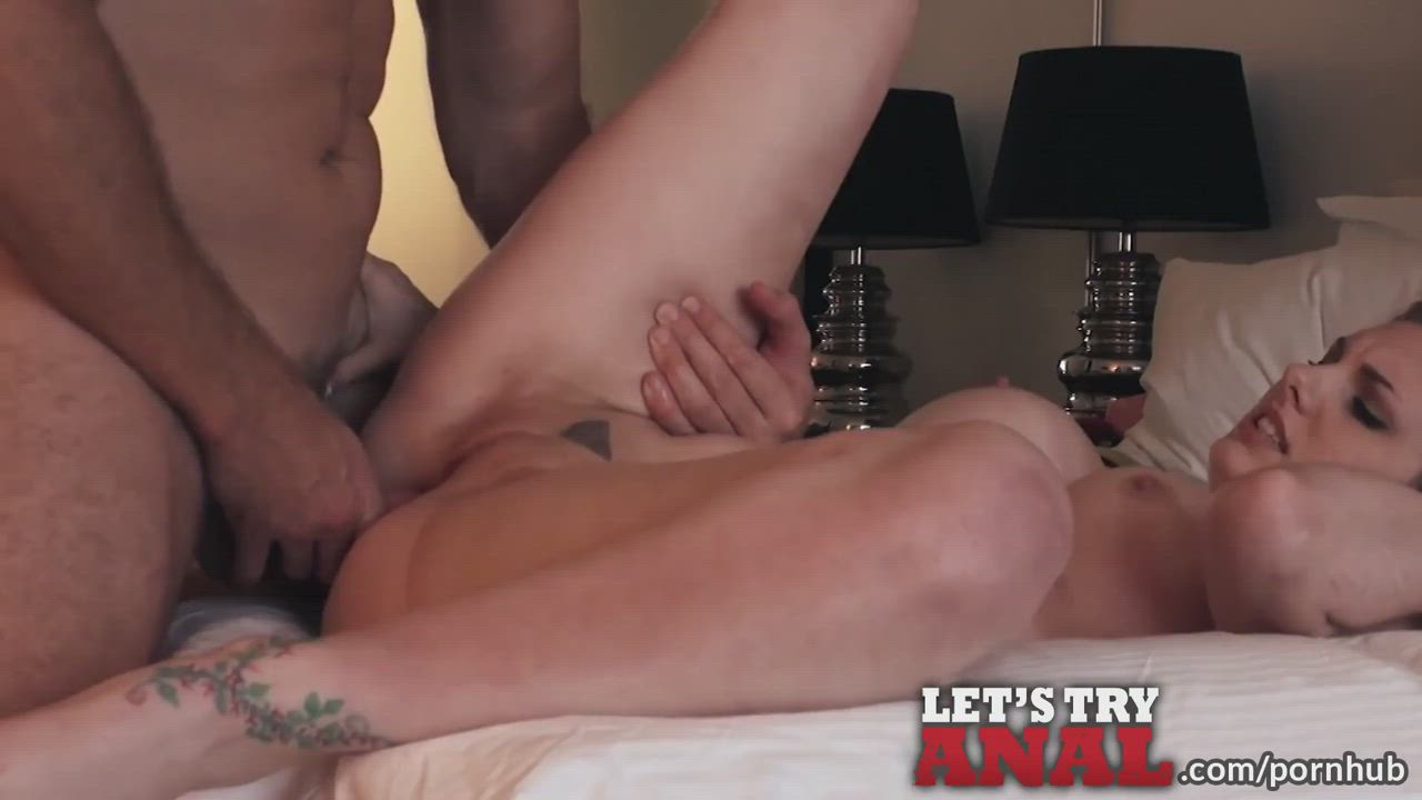 trying anal