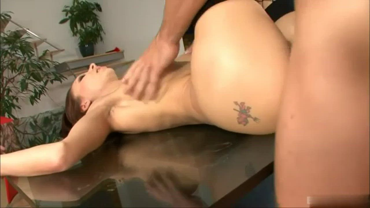 Anal On The Table