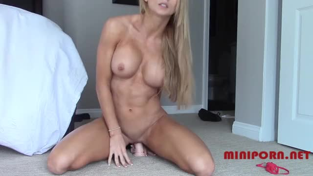 haley Ryder - Bouncing on a marital-device