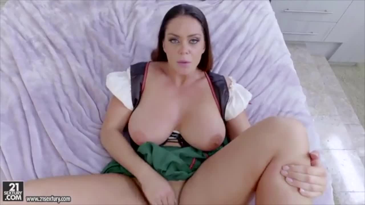 Alison Jerks a Cock Onto Her Luscious Tits