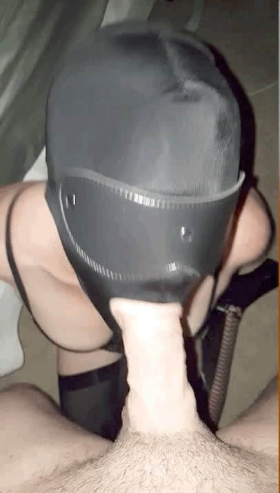No-one will recognize you, little sissy slut