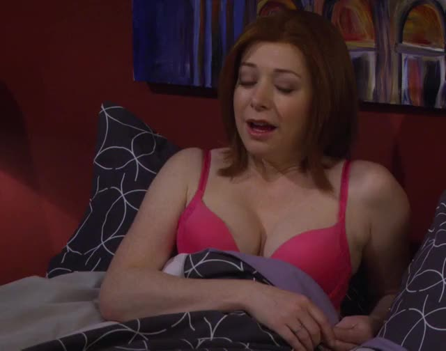 alyson Hannigan was made for titfucking