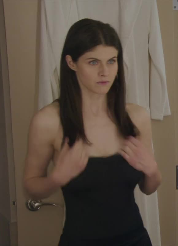assist me work my 10-pounder whilst Alexandria Daddario teases us