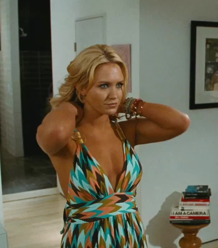 Nicky Whelan unveiling her boobs in 'Hall Pass'