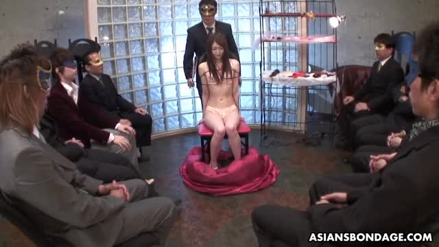 rina Serizawa in some fetish slavery role play