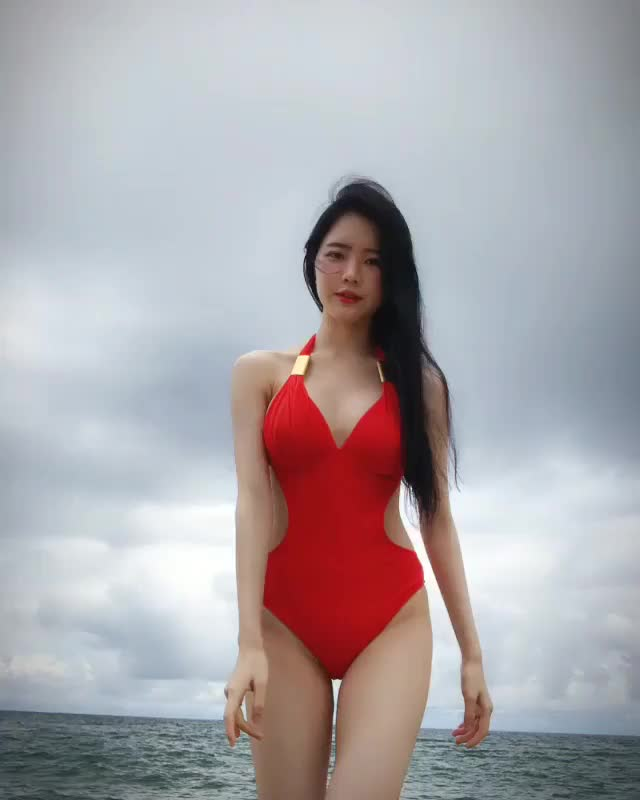 bJ Durim Go in a Swimsuit