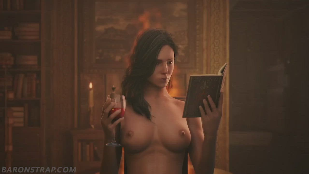 Yennefer and Ciri - Private Time (BaronStrap)