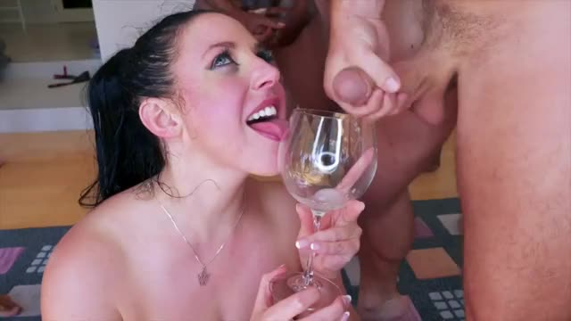 angela White and the Goblet of Jizz