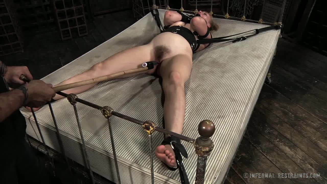 Guy in bondage forced to cum — pic 6