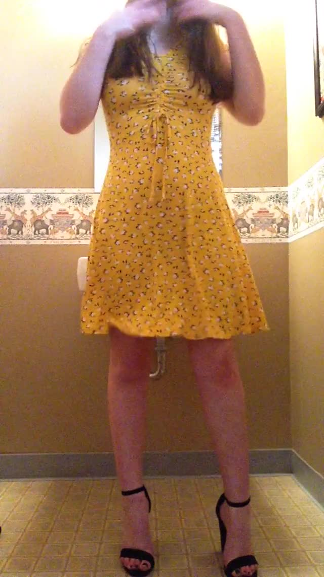 got a fresh church dress this week