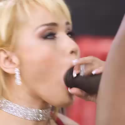 Hot Blonde Takes A BBC Like A Champ