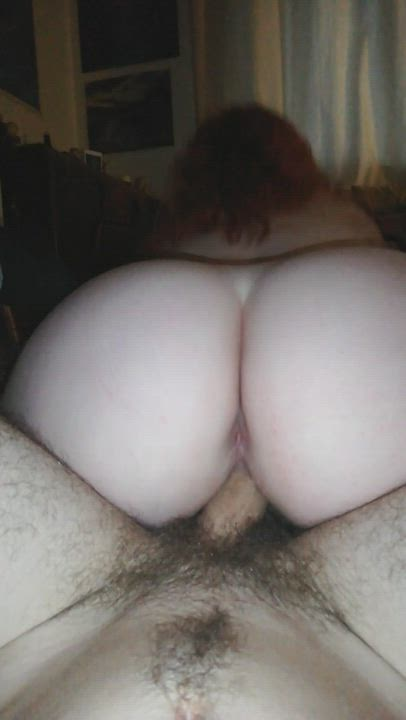 Pawg riding riding cock and playing with ass