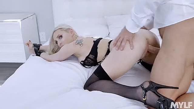 mYLF - Natasha James - Birthday Suit And Tie