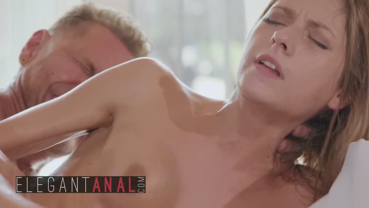 Make up sex and massage, Rebecca Volpetti gets her ass stretched - BABES