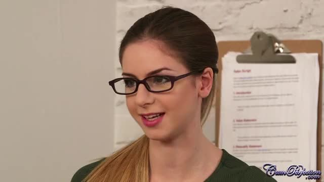 Stella is a secretary with a facial