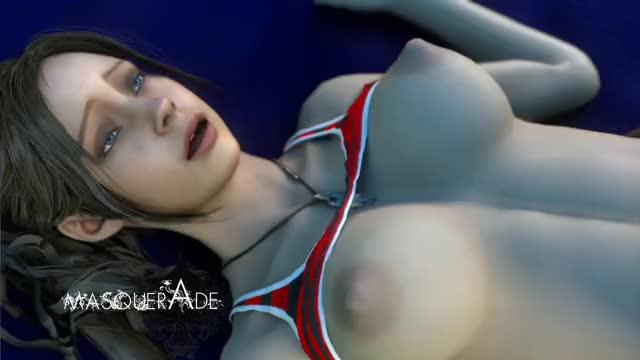 Claire Redfield a slow monday (Masquerade)