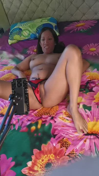 Your kinky naughty auntie shows how you could experience what you miss every night