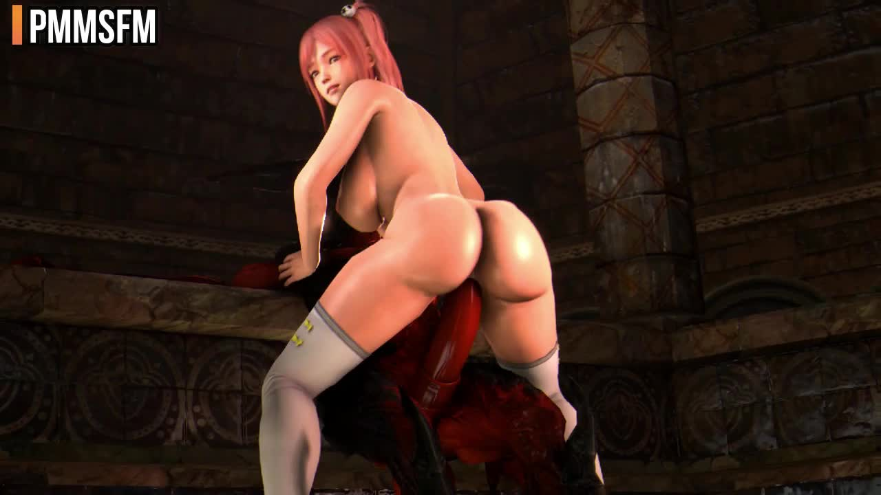 Ivy & DOA girls fucked by monsters. Public release. (PMMSFM) [Dead Or Alive, Soul Calibur]