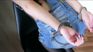eighteen Yo Large Wazoo College Legal age teenager Manacled and Punished in the Anal
