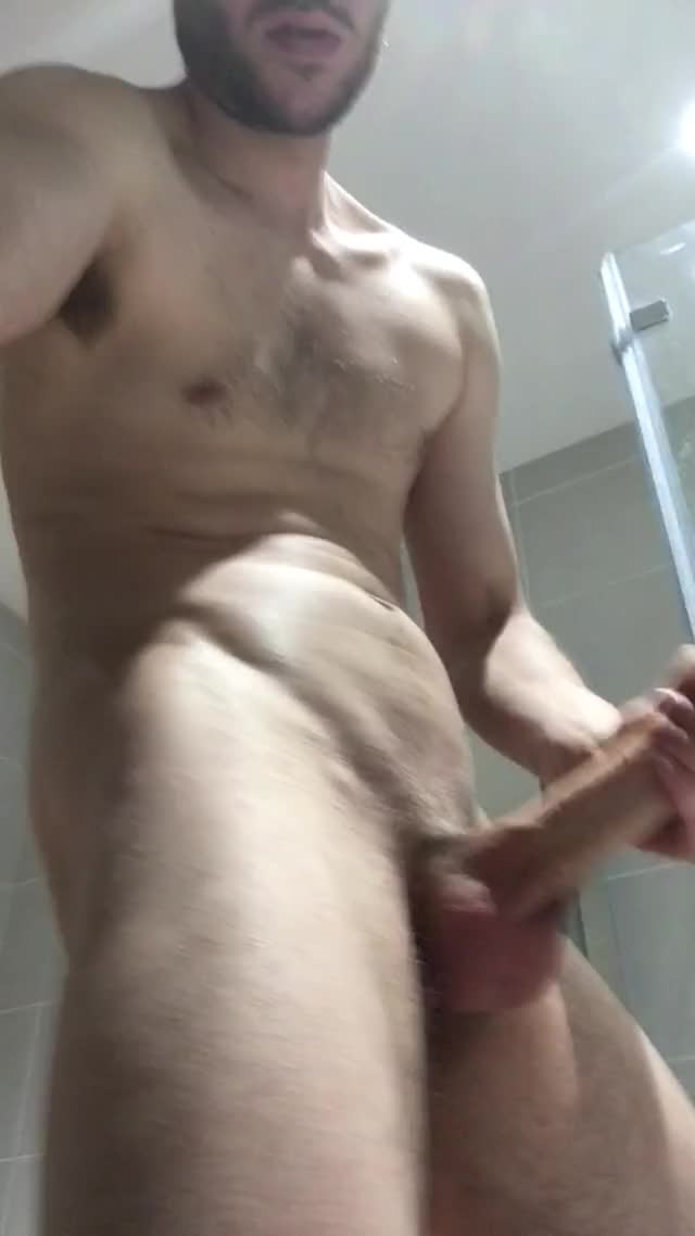 some fun previous to the shower