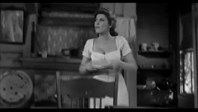 tina Louise cleavage in God's Little Acre