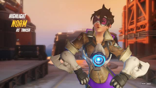 Overwatch tracer play of the game video