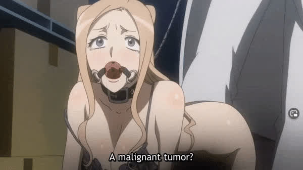 Even some regular anime like to have bondage in it caw caw