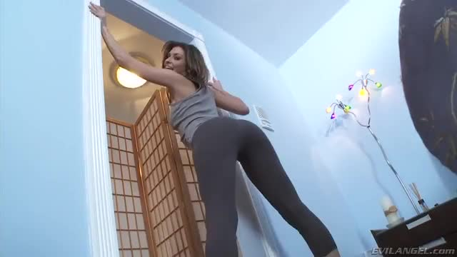 in Yoga Pants