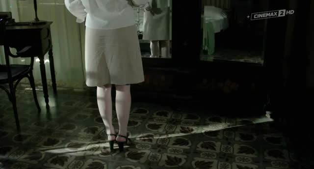 Fiona Glascott topless skirt plot in Controra (2013)