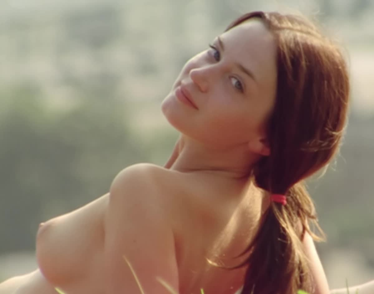Emily Blunt topless in My Summer of Love