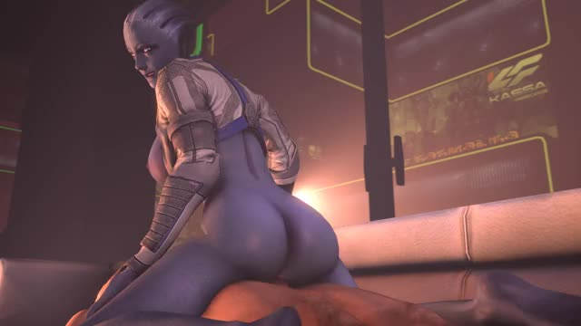 Plenty of exercise is Liara's secret to an awesome ass