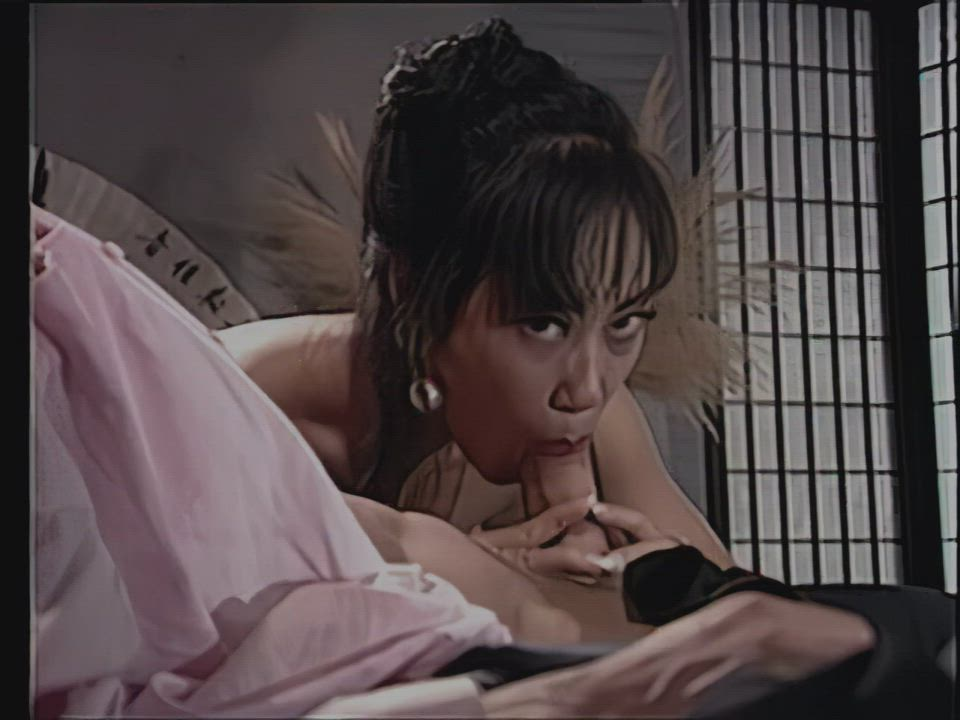 Mimi Miyagi, Dragon Lady 4 (1993) ps, upscaled] gorgeous pre-implants, w Peter North, tries to cum dodge, nails her anyway bwahahah