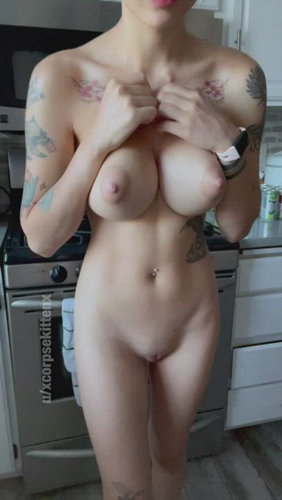 Would you titty fuck me in the kitchen?