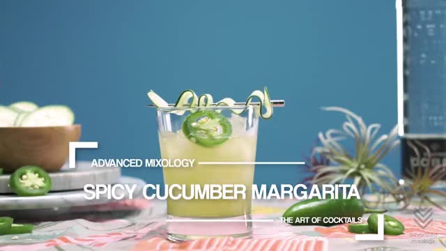 Watch SPICY CUCUMBER MARGARITA GIF by Advanced Mixology (@advancedmixolgy) on Gfycat. Discover more related GIFs on Gfycat
