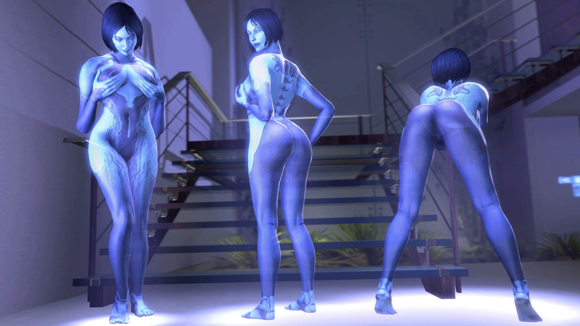 Halo cortana masterbating porn nsfw download