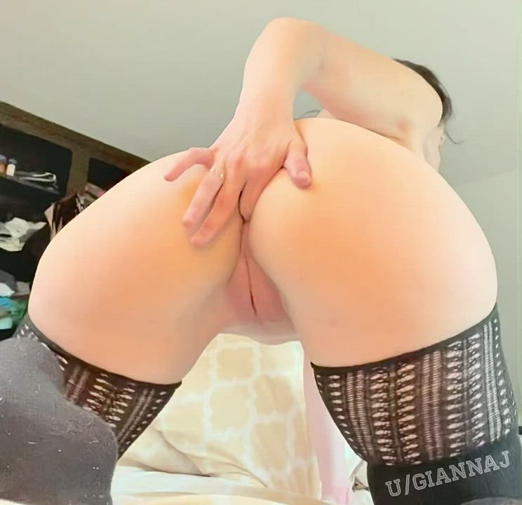 I love it when you shove a finger in my ass while you're fucking me from behind