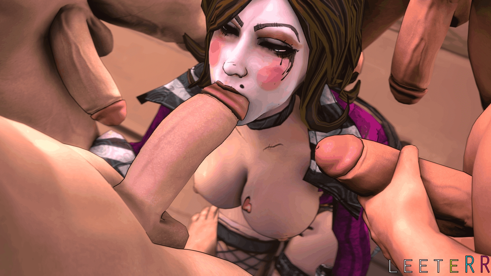 Hentai tube borderlands erotic clip