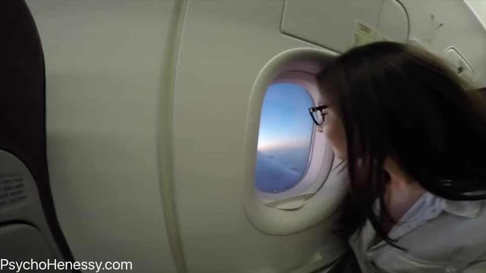 Orgasm above the clouds