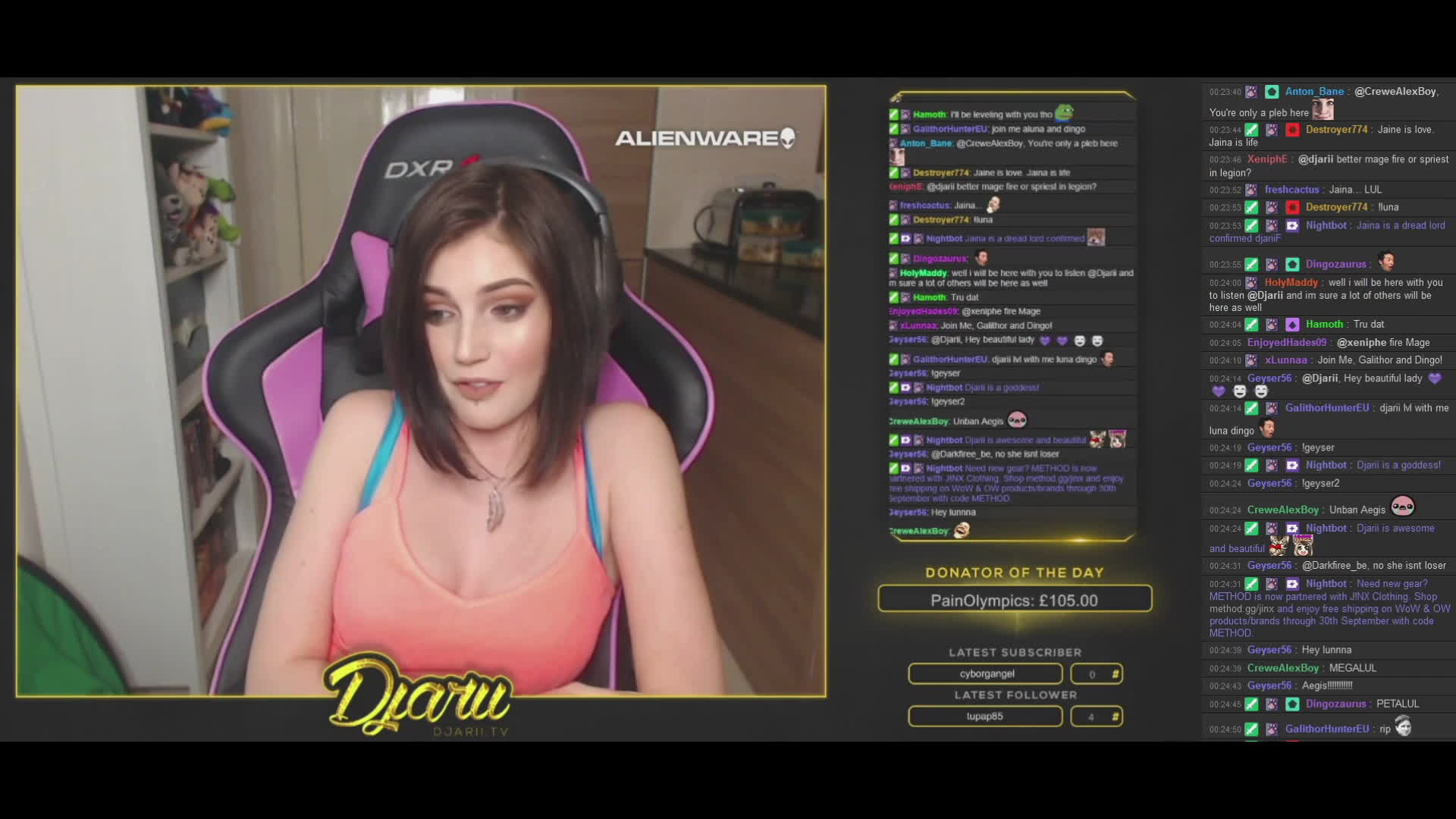 Anyone got a twitch clip of this by Djarii?