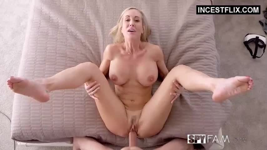 Blonde MILF orgasming from a hot fuck