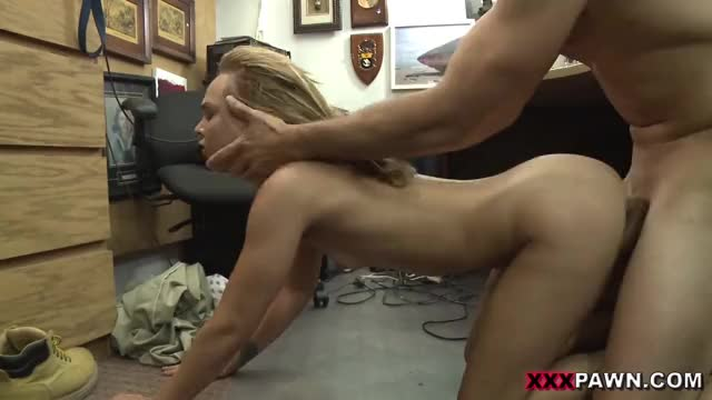 coarse sex on office floor