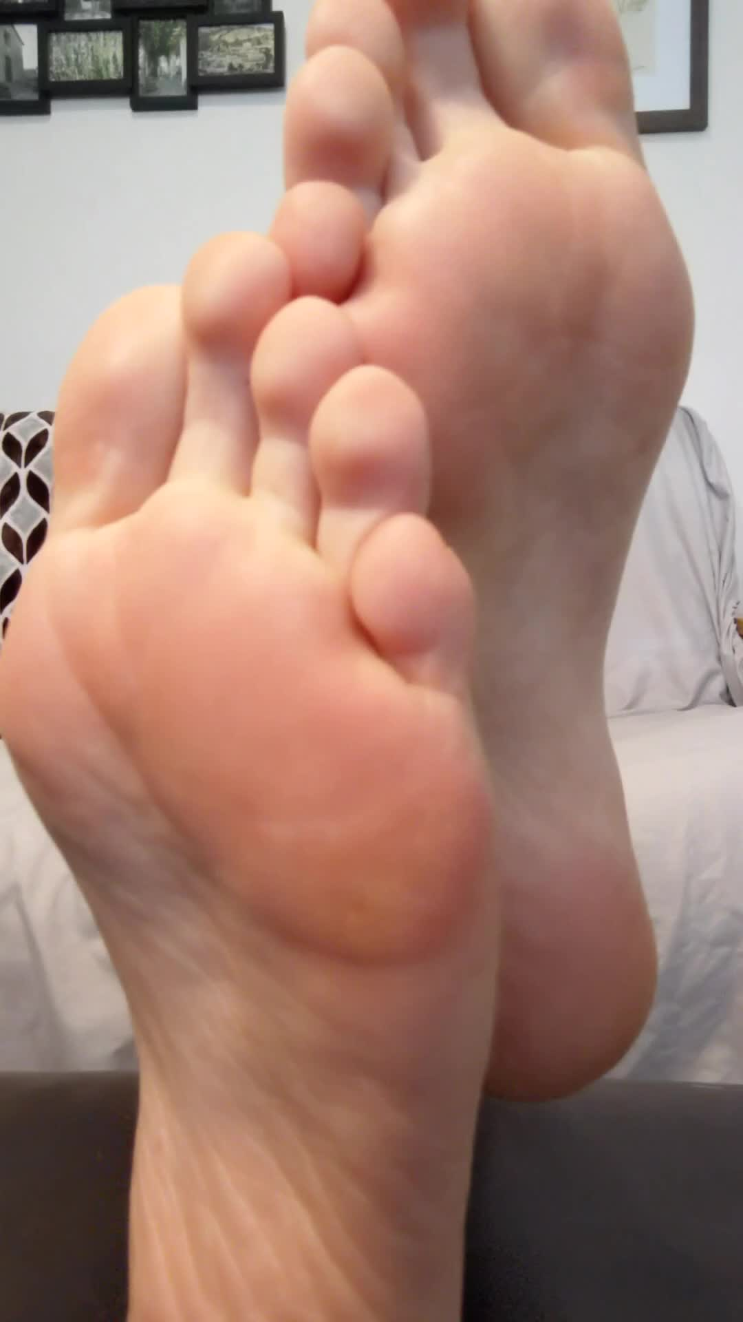 Sexy soles up close!